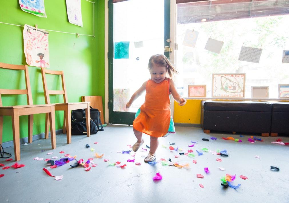 baby kleuterschool