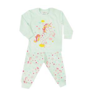 baby pyjama mint eenhoorn