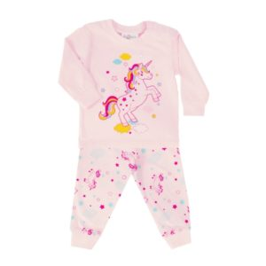 baby pyjama roze eenhoorn
