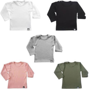 baby tshirt basic deal combi
