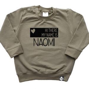 baby sweater kahki name hartje
