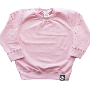 baby sweater roze basic