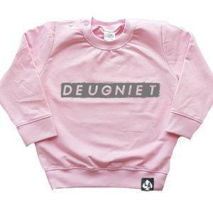 baby sweater roze deugniet