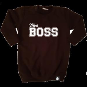 baby sweaterjurk mini boss zwart