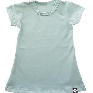 Baby zomer jurkje mintgroen basic