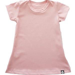 Baby zomer jurkje roze basic