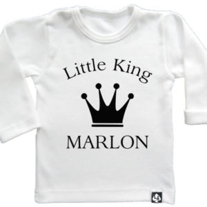 baby tshirt specials little king wit
