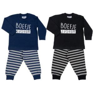 baby jongen pyjama boefje